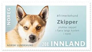 Norway 2020 dog stamp