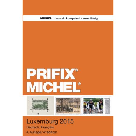 MICHEL-Prifix Catalog Luxemburg 2015