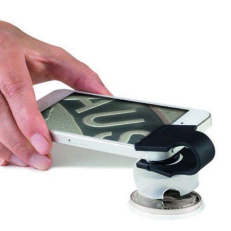 Leuchtturm PHONESCOPE Macrolens 60X for Smartphones