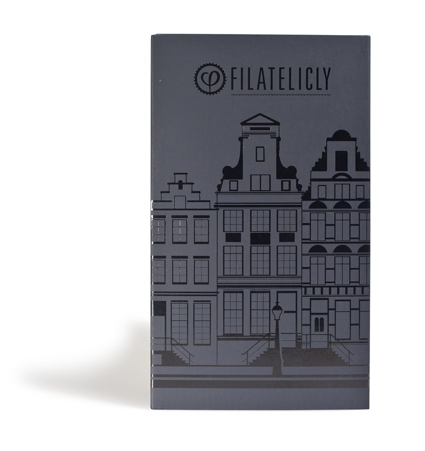 Filatelicly Pocket Stamp Album CITIES Amsterdam Canal Houses