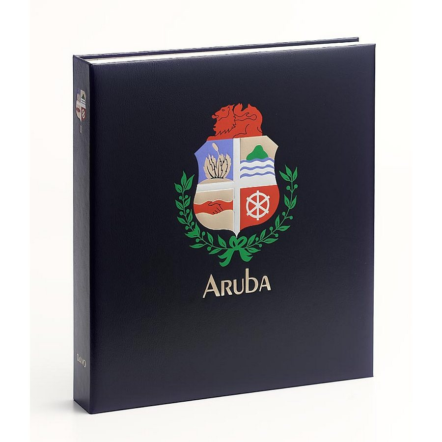 DAVO Printed Albums Aruba 1 / DAVO Stamp Album Binders Aruba / DAVO Stamp Album Binders Aruba