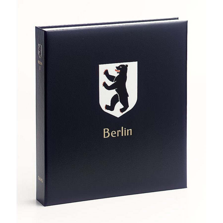 DAVO Printed Albums Berlin 1 / DAVO Stamp Album Binders Berlin