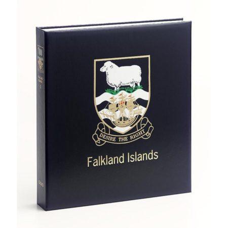 DAVO Printed Albums Falkland Islands Dep