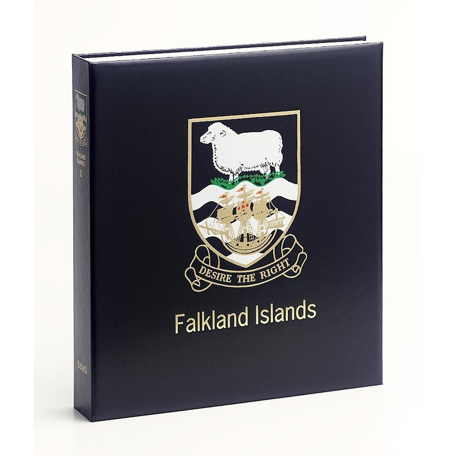 DAVO Printed Albums Falkland Islands Dep
