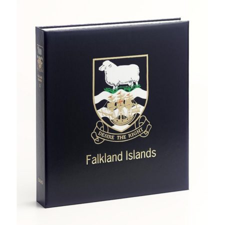 DAVO Stamp Album Binders Falkland Islands / DAVO Printed Albums Falkland Islands