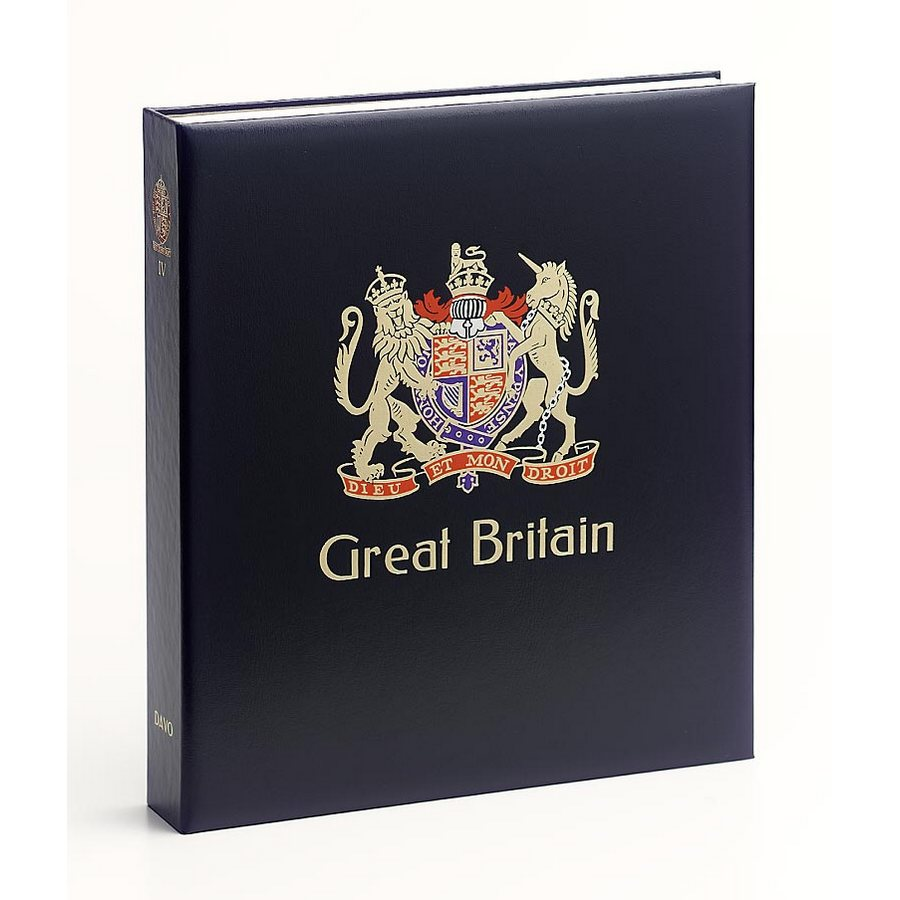 DAVO Printed Albums Great Britain