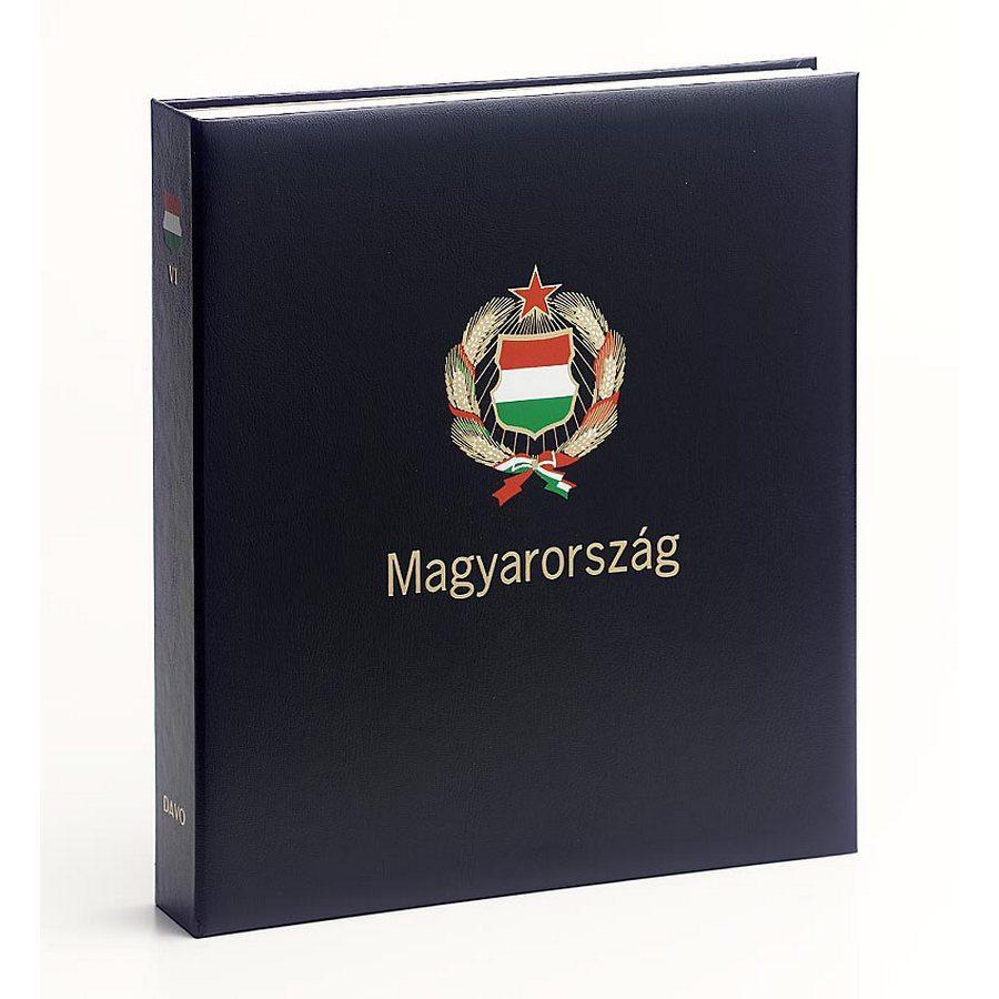 DAVO Stamp Album Binders Hungary / DAVO Printed Albums Hungary