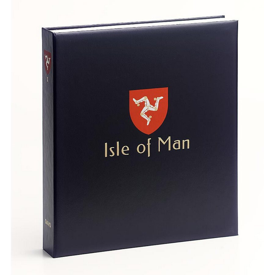 DAVO Printed Albums Isle of Man / DAVO Stamp Album Binders Isle of Man