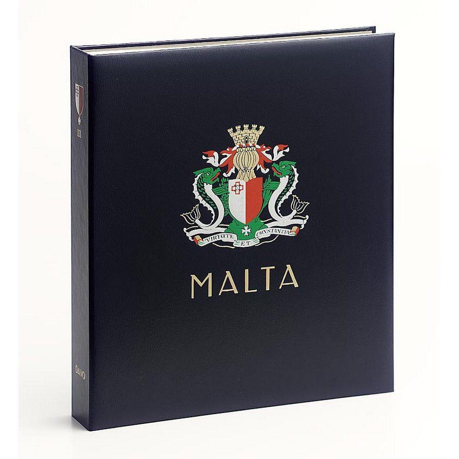 DAVO Stamp Album Binders Malta /DAVO Printed Albums Malta 1