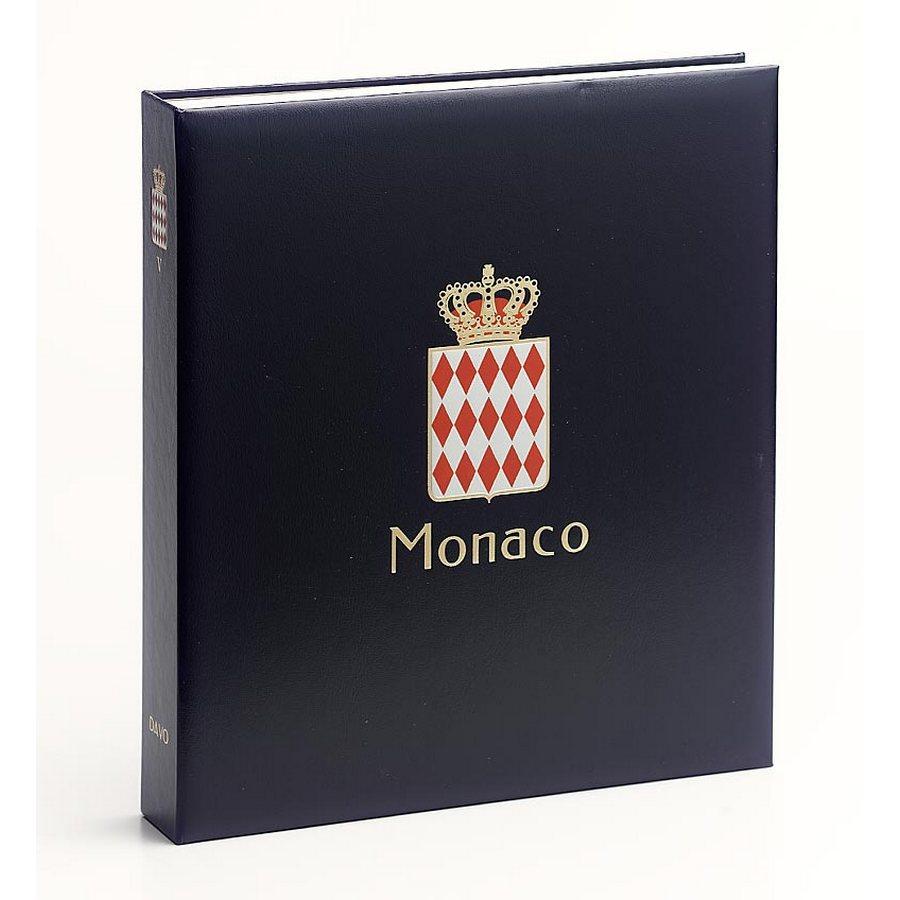 DAVO Printed Albums Monaco / DAVO Postzegelalbums Monaco