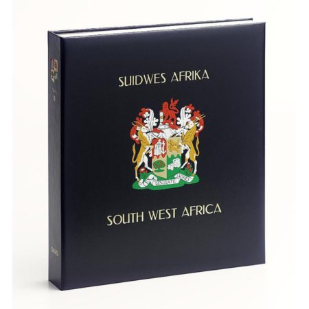 DAVO Stamp Album Binders South West Africa Namibia / DAVO Printed Albums SWA Namibia
