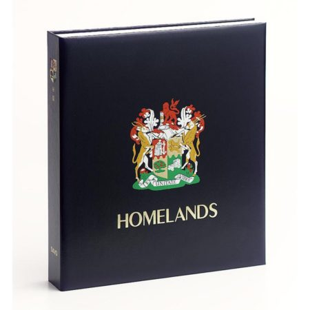 DAVO Stamp Album Binders South Africa Homelands / DAVO Printed Albums South Africa Homelands