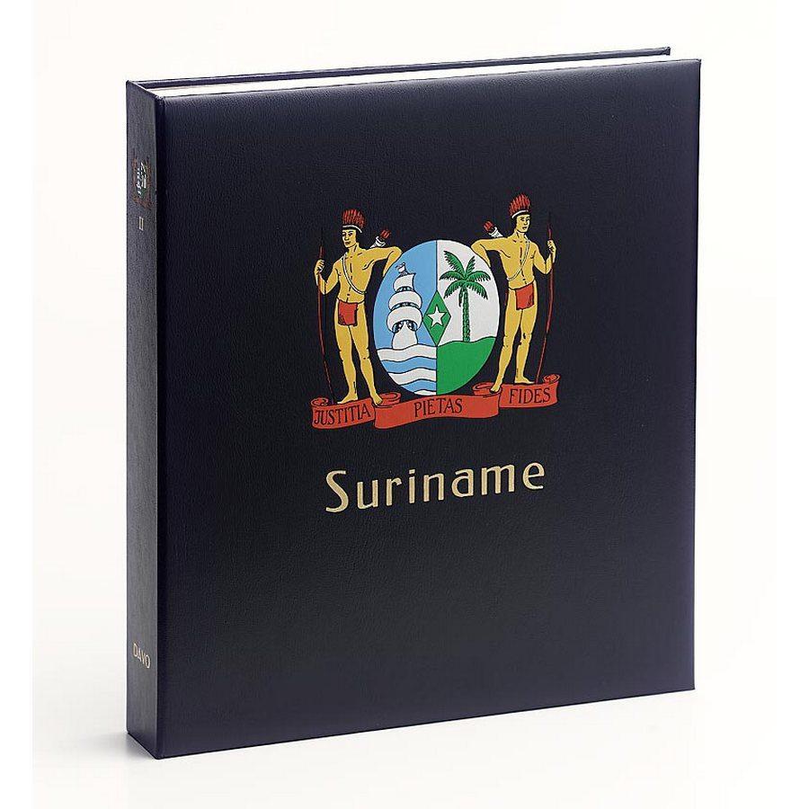 DAVO Printed Albums Suriname / DAVO Postzegelalbums Suriname