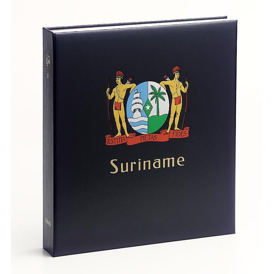 DAVO Printed Albums for Suriname