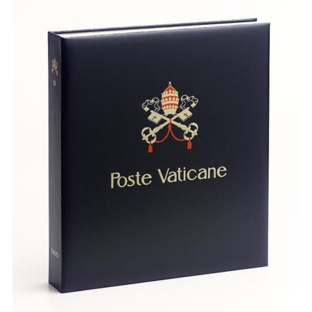 DAVO Stamp Album Binders Vatican City / DAVO Printed Albums Vatican City