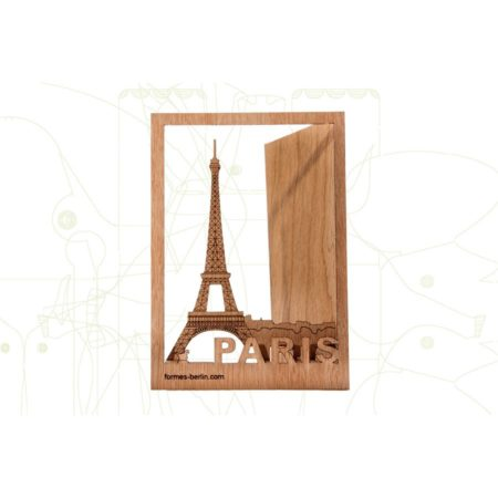 Formes Berlin Wooden Postcard Paris