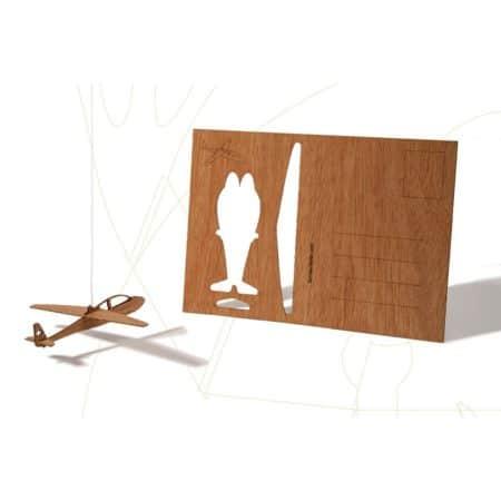 Formes Berlin Wooden Postcard GLIDER