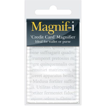 Magnifi Credit Card Magnifier 2X