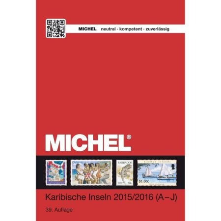 Michel Catalog Karibische Inseln 2015/2016 Band 1 A to J UEK21 front cover