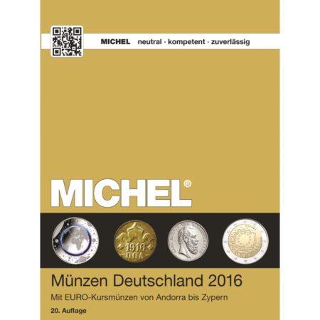 Michel Catalog Münzen Deutschland 2016