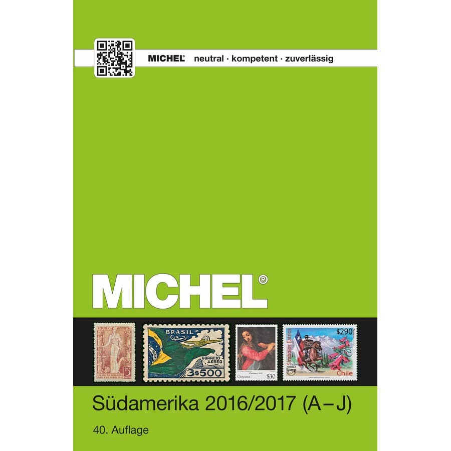 Michel Catalog Südamerika 2016/2017 (ÜK 3/1) – Volume 1 A-J Countries