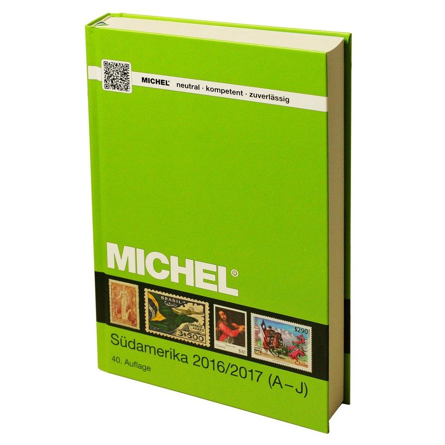 Michel Catalog Südamerika 2016/2017 (ÜK 3/1) – Volume 1 A-J Countries