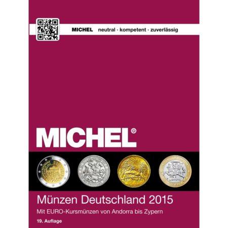 Michel Catalog Münzen Deutschland 2015