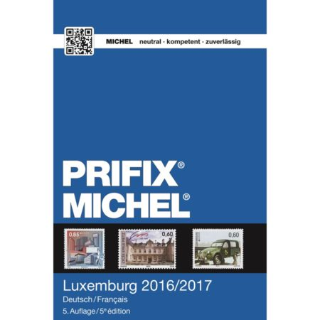 MICHEL-Prifix Catalog Luxemburg 2017