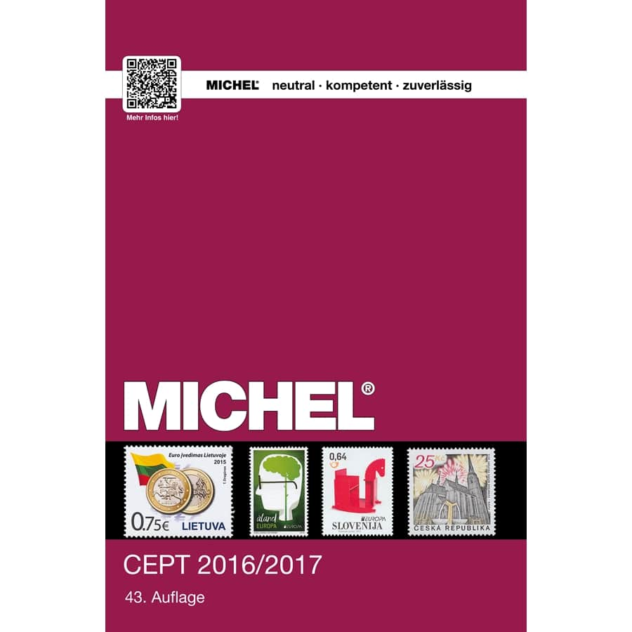 Michel Stamp Catalog CEPT 2016/2017
