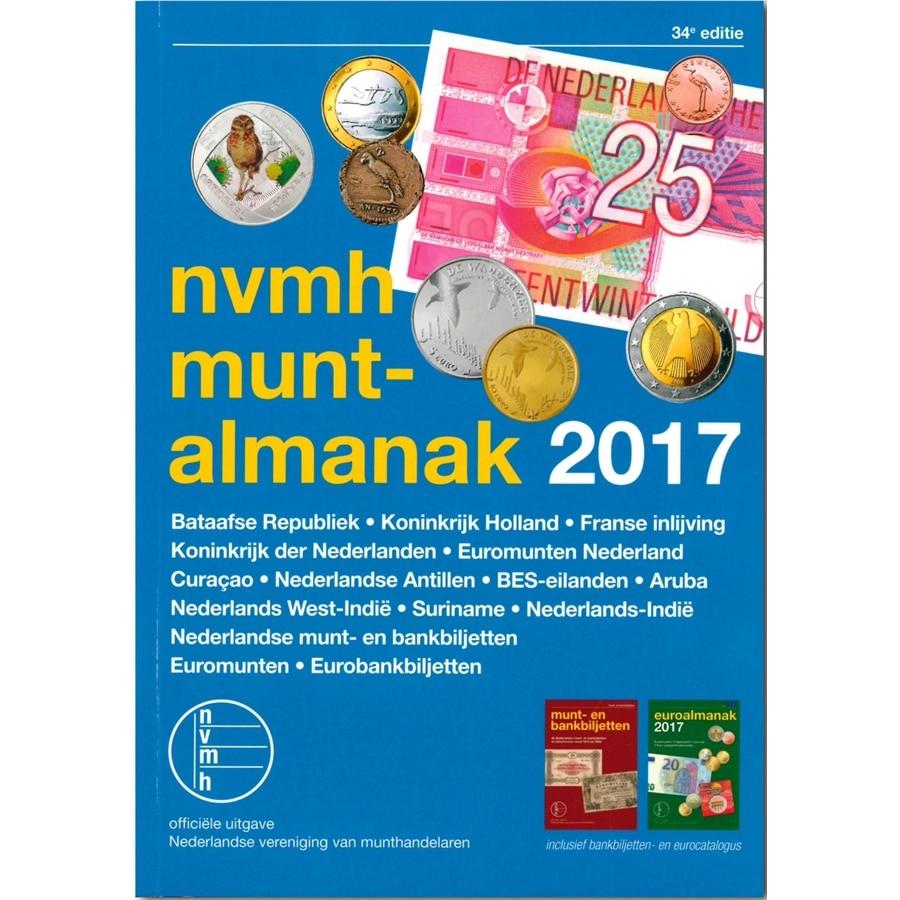 NVMH Muntalmanak 2017 Nederland Munt Catalog