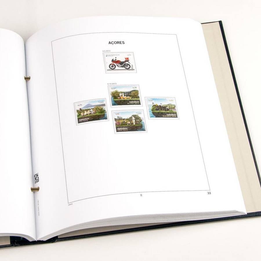 Printed Albums: DAVO Printed Albums Azores Madeira (1980-2016)