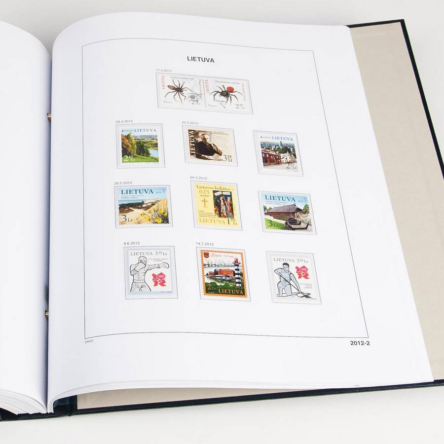 Printed Albums: DAVO Printed Albums Baltic States (1990-2017)