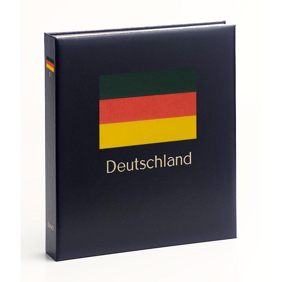 DAVO Printed Albums Unified Germany / DAVO Postzegelalbums Duitsland verenigd