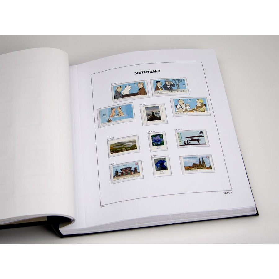 Printed Albums: DAVO Printed Albums Unified Germany (1990-2017)