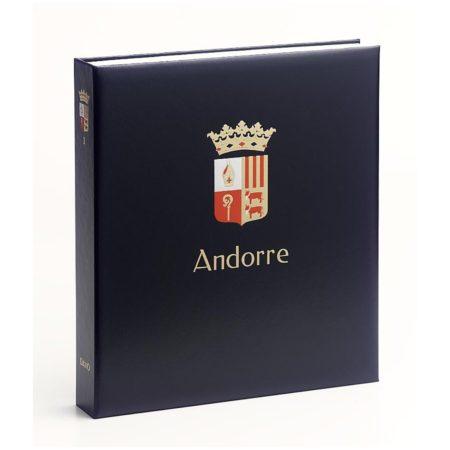DAVO postzegelalbums Andorra Spaans / DAVO Printed Albums Andorra France