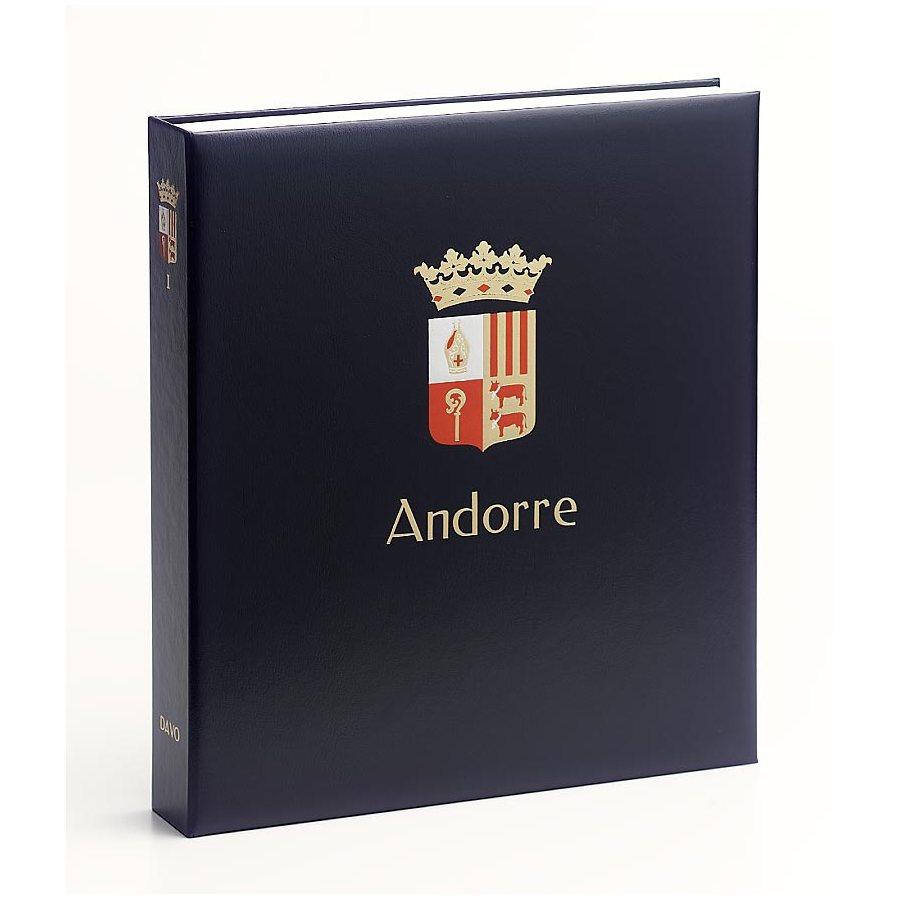 Printed Album: DAVO Printed Albums Andorra Spain (1928-2017)
