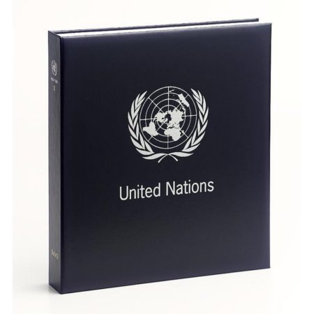 DAVO Stamp Album Binders United Nations / DAVO Printed Albums United Nations / DAVO Postzegelalbums United Nations