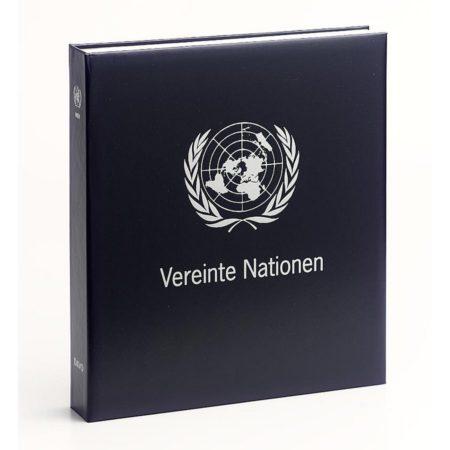 DAVO Stamp Album Binders UN Vienna / DAVO Printed Albums UN Vienna