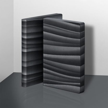 nuuna Graphic L Abstract Waves Notebook 52132