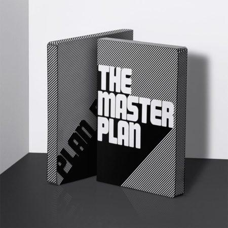nuuna Graphic L Master Plan 51968 White Screen Print
