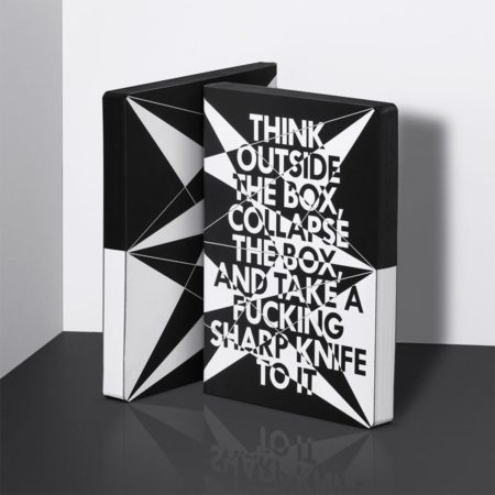 nuuna Graphic L Think Outside Notebook 51982