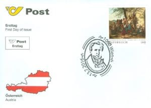 Austria Old masters - Ferdinand Georg Waldmüller FDC