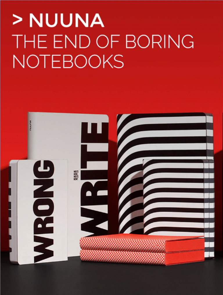 Nuuna The End of Boring Notebooks