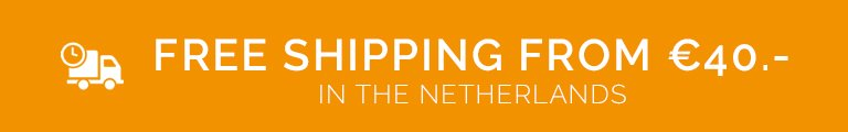 Philatelicly free shipping from €40.- in The Netherlands