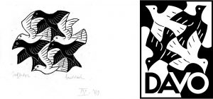 DAVO Logo by Escher