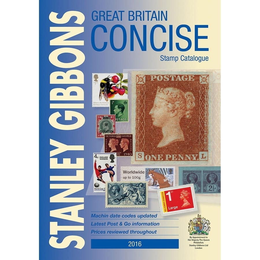 Great Britain Concise Stamp Catalogue 2016
