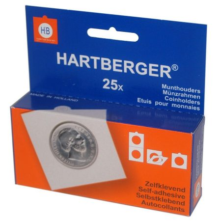 Hartberger Pack of 25 coinholders Adhesive