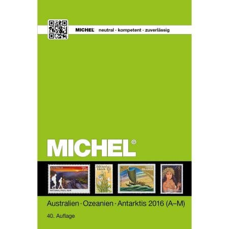 Michel Catalog Australien Ozeanien Antarktis 2016 (ÜK 7)