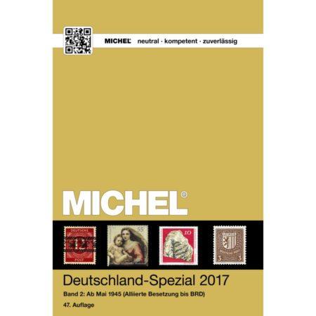 Michel Catalog Deutschland-Spezial 2017 Volume II Band II