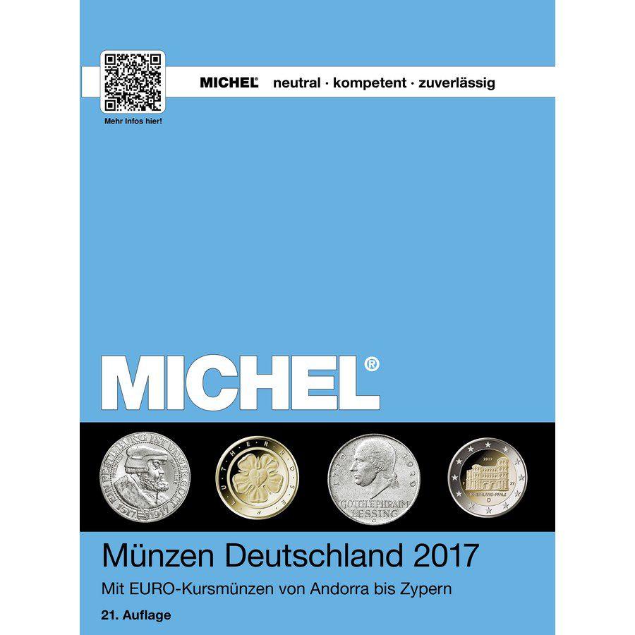 Michel Catalog Münzen Deutschland 2017 9783954021932 Front Cover